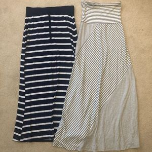 Dresses & Skirts - TWO women's maxi skirts - perfect for summer!